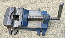 Vintage Machinist Drill Press Bridgeport Mill Vise 3 12 Adjustable