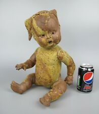 Weird vintage Baby Sculpture / Figure. Life-sized. Art Studio Pottery / Clay.