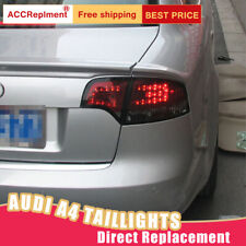 For Audi A4 LED Taillights Assembly Red LED Rear Lamps 2007-2008