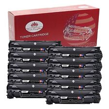 10 Pack New CF283A 83A Black Toner Lots For HP LaserJet M127fn M127fw M125nw mfp