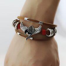 Fairy Tail Logo Bracelet Natsu Dragnee Happy Lucy Heartfilia Gray Necklace GIFT