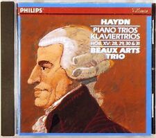 PHILIPS Haydn BEAUX ARTS TRIO Piano Trios (CD, 1987, W. GERMANY) 420-790-2