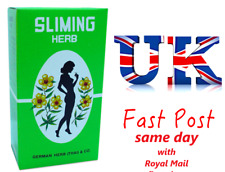 5 Boxes - 250 Bags GERMAN SLIMING HERB TEA Slimming Weight Loss calories burning