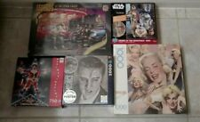Lot of 5 Pop Culture Jigsaw Puzzles    NEW