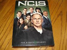 NCIS: The Eighth Season (DVD, 2011, 6-Disc Set)