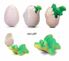 Growing Hatching Crocodile Egg Easter Activity Grow Pet Eggs Stocking Filler Toy