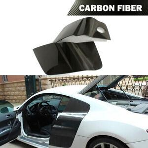 Fits Audi R8 V8 V10 Coupe 08-15 Side Door Fender Guard Cover Carbon Fiber 2PCS