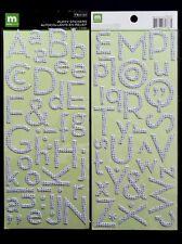Puffy Alphabet Stickers-multi Dot. Making Memories. HUGE Saving