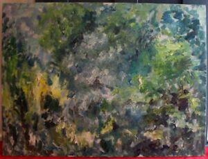 Orig 1960s Anthony Sabatucci ABSTRACT Listed Pennsylvania Impressionist 1915-96