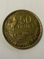 1953 France 50 Francs A-15-6