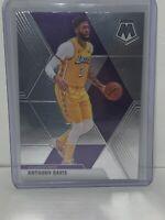 Anthony Davis Prizm Mosaic Base #18 2019-20 Los Angeles Lakers NBA FINALS