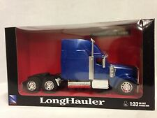 International 9900ix Truck Cab, 1:32 Diecast, Collectible, New Ray Toys, Blue