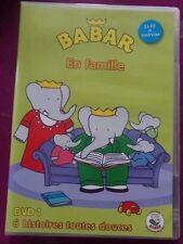 DVD BABAR EN FAMILLE / 6 HISTOIRES TOUTES DOUCES