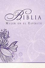 Biblia Mujer en el Espiritu (Tapa dura): Reina-Valera 1960 (Spanish Edition)