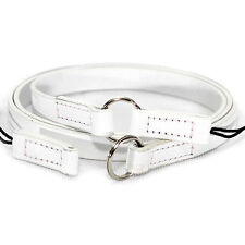 CIESTA DSLR SLR RF Camera Leather Neck Shoulder Strap ARCO 2 Way [White]