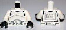 LeGo Star Wars Torso Dual Sided White Clone Trooper Ep.3 7655 NEW