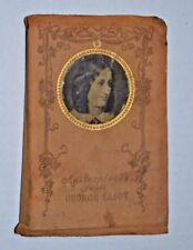 1876 Masterpieces from George Eliot RARE HM Caldwell Leather Skin Edition 1876