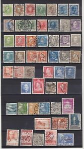 DENMARK STAMPS EXCELLENT COLLECTION OF STAMPS-
