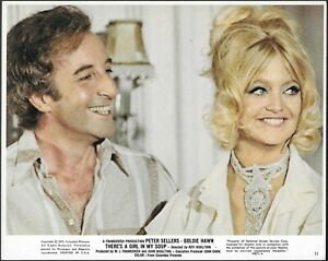 Peter Sellers Goldie Hawn Original 1970 Photo There's a Girl in My Soup