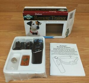PetSafe Deluxe Remote Small Dog Bark Trainer Collar & Remote **NEW-READ**