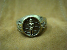 Ring I Kai Magic Kuman Lucky Rich Gambling Talisman Jewelry Thai Buddha Amulet