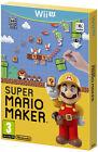 SUPER MARIO MAKER + ARTBOOK (NINTENDO WII U WIIU) NUOVO NEW