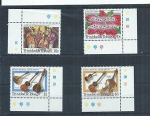 Trinidad & Tobago stamps.  1984 Parange Festival MNH SG 669 - 672 (P743)