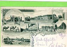 More details for early gruss aus samercande samarkand russia uzbekistan used 1902 tashkent
