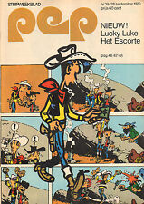 PEP 1970  nr. 39 - THE BYRDS / HEINZ STUY (AJAX/ POSTER) / LUCKY LUKE (COVER)