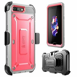 For OnePlus 5 Case, SUPCASE Full-body Rugged Holster Cover with Screen Protector