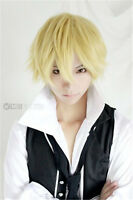 Ouran High School Host Club Tamaki Suou Cosplay Wig Anime Props Gold Silk Hair