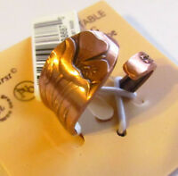ARTHRITIS Solid Copper  Adjustable SPOON Ring  UTAH SEGO LILLY   New  C565R