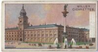 Royal Palace Warsaw Poland 100+  Y/O Ad Trade Card