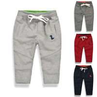 Fashion Kids Toddler Baby Boy Girls Long Pants Casual Sweatpant Trousers Bottoms