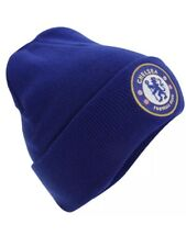 Chelsea Knitted Hat Winter Beanie TU RY Gift New Official Licensed Football Club