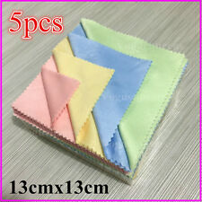 Advanced 5Pc Microfiber Phone Screen Camera Lens Glasses Cleaner Cleaning Cloth