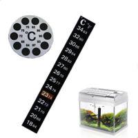 Fahrenheit & Celsius Thermometer Temperature Gauge Sticker Aquarium fish tank AU