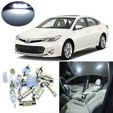10pcs White Interior LED Light Package Kit for Toyota Avalon 2013-2014