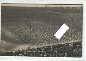 Prag  Slet vsesokolsky 1926 Sportler Massen   original alte Fotokarte