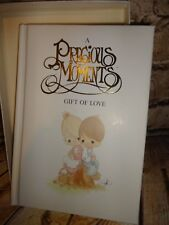 A Precious Moments Gift of Love Sam Butcher Illustrated Has Gift Box New