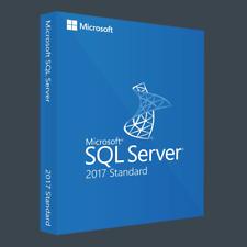 Microsoft SQL Server 2017 Standard   Lizenz - Vollversion