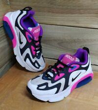 Nike Air Max 200 Trainers - UK 3.5 (EU 36) stylish bright pink white purple