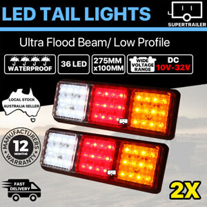 2x Trailer lights 36 LED Stop Tail Indicator Reverse TRUCK CAMPER LIGHT 10-30V