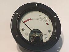 Vintage 200ua movimiento, bobina, Metro del panel de calidad Premium fd5b