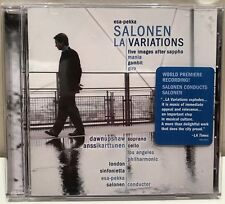 Esa-Pekka Salonen LA Variations CD Sony SK 89158 Anssi Karttunen Dawn Upshaw