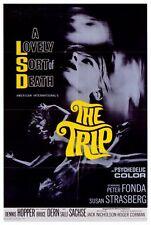 THE TRIP Movie POSTER 27x40 Peter Fonda Susan Strasberg Bruce Dern Dennis Hopper