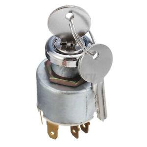 Universal 12V Ignition Switch Kit & 2 Keys LUCAS SPB501 For Car Motorcycle Boat