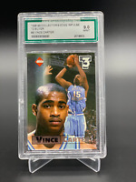 1998 Collector's Edge Impulse Vince Carter Rookie Encased Graded 9 Mint RC