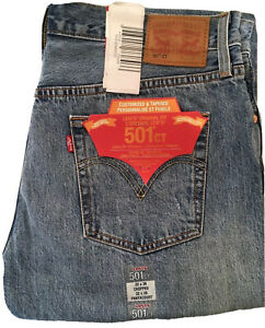 Levis Jeans 501 CT 17804-0029 Tapered Leg, Button Fly,
