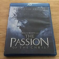 The Passion of the Christ 2004 Definitive Edition Mint 2 Disc Dvd + Blu Ray